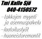 Kalle Sjö Tmi