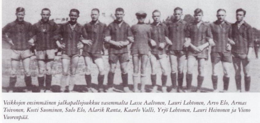 TuWen ensimmäinen jalkapallojoukkues
